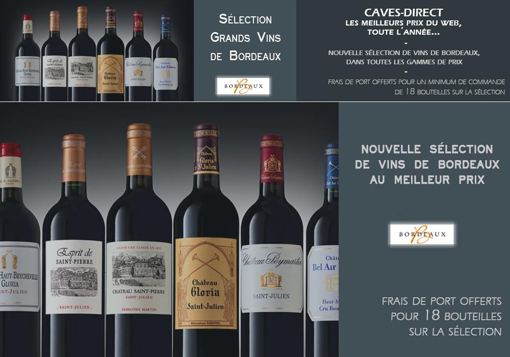 Sélection Vins de Bordeaux